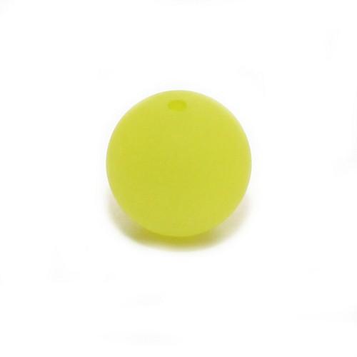 Polaris Perle Kugel matt apfel-grün 14 mm 1 Stk.
