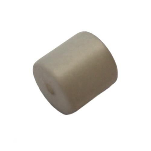 Polaris Perle Walze matt grau 10 mm 1 Stk.