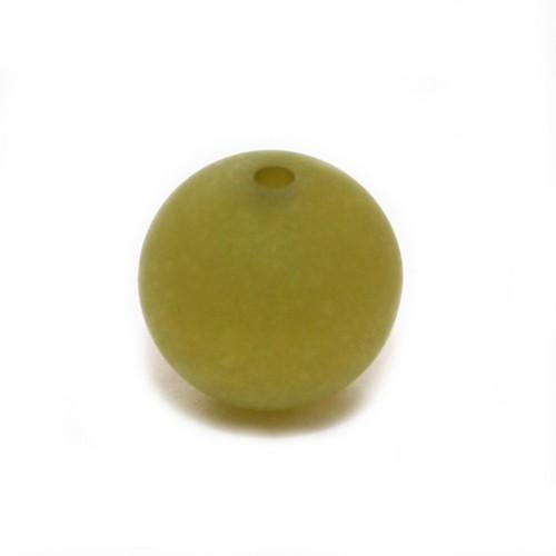 Polaris Perle Kugel matt kiwi 16 mm 1 Stk.