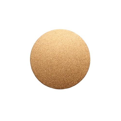 Metallplatte Aluminium Scheibe Kreis rose - gold gebürstet 4cm 1 Stück