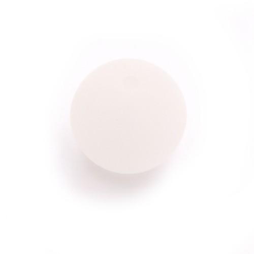 Polaris Perle Kugel matt weiß 10 mm 1 Stk.