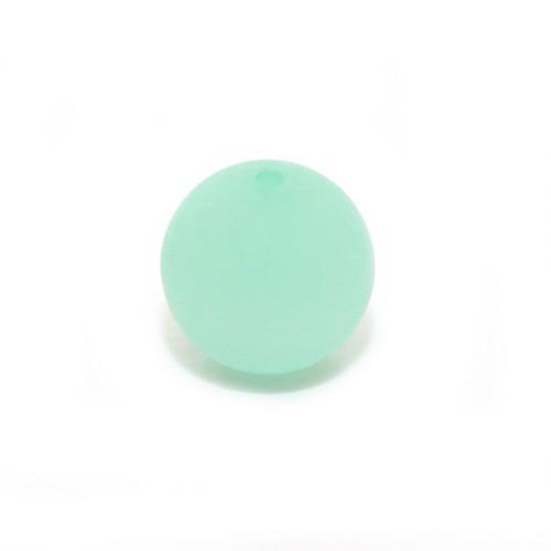 Polaris Perle Kugel matt mint 12 mm 1 Stk.
