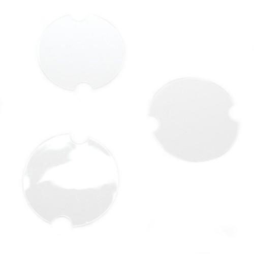 Ringhalter zur dekorativen Schmuckpräsentation tranparent 39 x 0,8 mm 10 Stk.