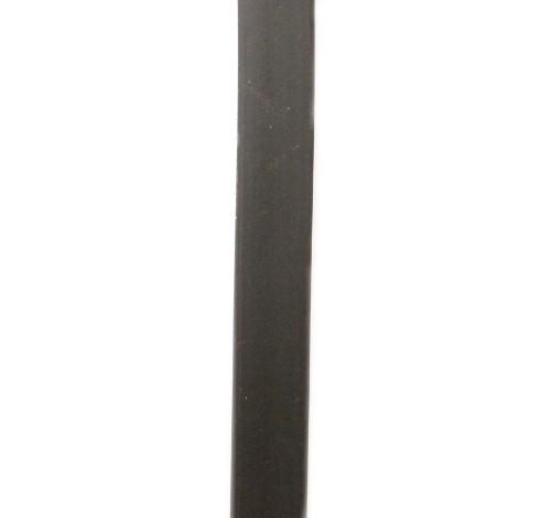 Kautschukband schwarz 10 x 2 mm 50cm