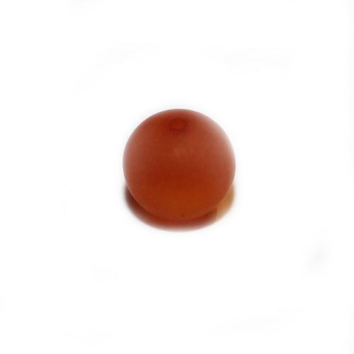 Polaris Perle Kugel matt rostbraun 8 mm 1 Stk.