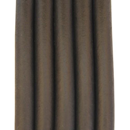 Kautschukband SOFT - etrem leicht und flexibel schwarz 8mm 100cm lang