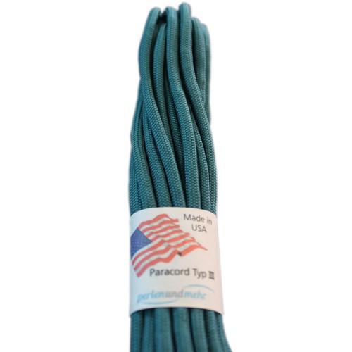 Paracord - perlenundmehr - original amerikanisch TypIII Farbe teal