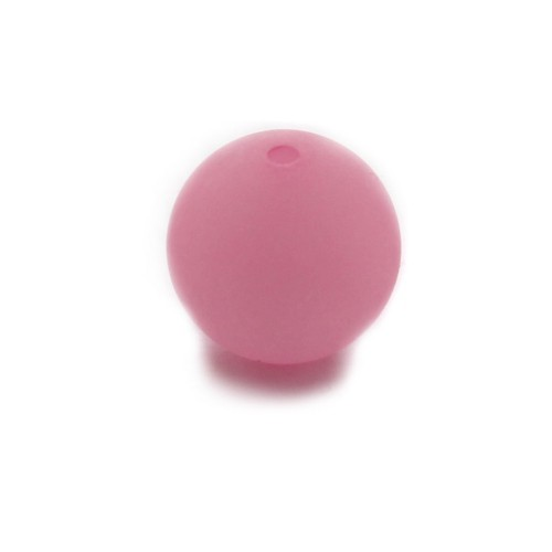 Polaris Perle Kugel matt pink 14 mm 1 Stk.