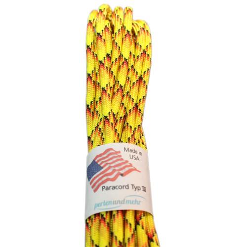 Paracord - perlenundmehr - original amerikanisch TypIII Farbe Explosion