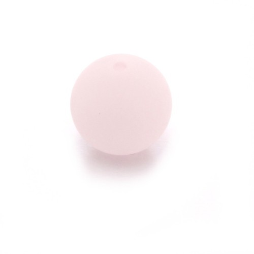 Polaris Perle Kugel matt hell rosa 10 mm 1 Stk.