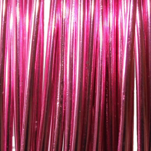 Aluminium Draht Alu Schmuckdraht pink 2 mm ca. 10m lang